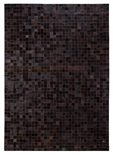Luxor Living Teppich Rinderfell Fell Patchwork Fellteppich rechteckig, Größe:120 x 180 cm,...