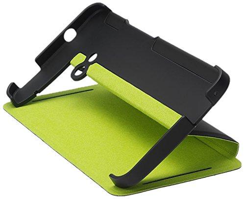 HTC Flip Case HC V841 black-green für One M7, One M7 LTE - 99H11296-00 - Blister-OVP