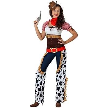 Atosa - Disfraz de vaquera para mujer, talla M/L (15730): Amazon ...