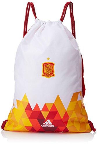 Adidas Federación Española de Fútbol Leg Anar GB: Bolsa  Color Escarlata Blanco  Talla
