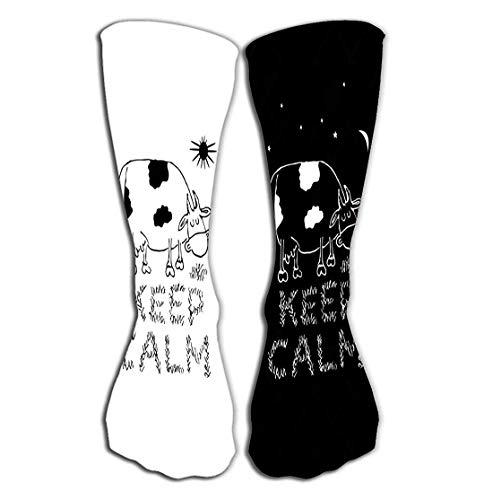 High Quality Keep Calm and Have Fun Design Socks,