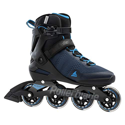 Rollerblade Herren AERO 84 Inline Skates, Denim SC./BLU Astro, 27