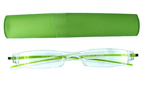MTS GR00012G compactos gafas sin montura de lectura para leer la ayuda con el caso00 dioptrías