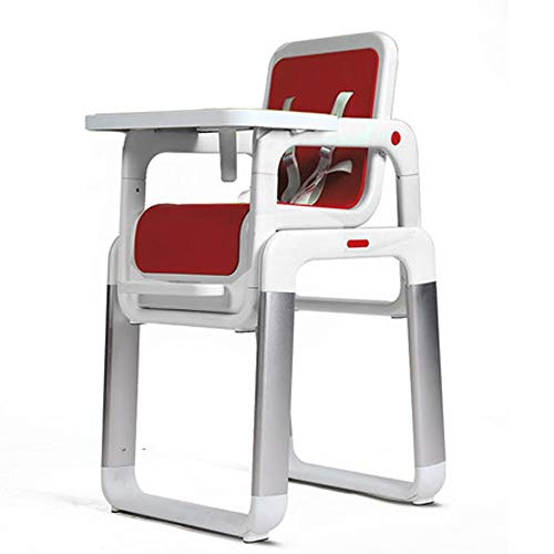 Great Price! MASODHDFX Split Child Dining Chair Metal Baby Feed Chair Portable Baby Dining Table PP seat Separate Baby Feed Chair,B