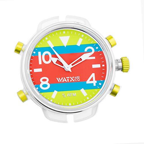 Reloj analógico XXL de Hombre Watx&Colors, RWA3742