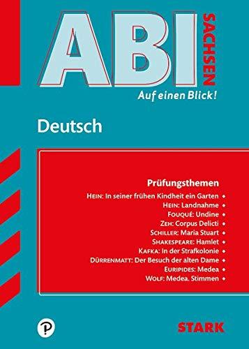 STARK Abi - auf einen Blick! Deutsch Sachsen