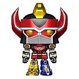 Topstars Funko Power Rangers #497 Metallic Megazord 6 Inch Pop! Multicolor