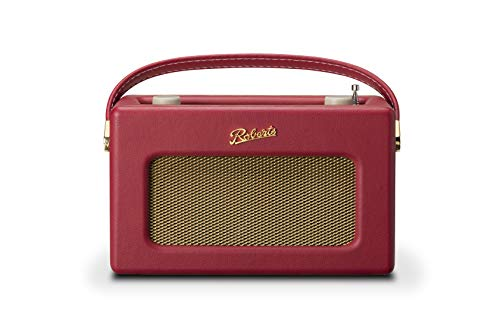 Roberts Revival iStream 3 Berry red (DAB+ Digitalradio/FM/Amazon Music/Spotify/Tidal/Deezer/USB + Internetradio)