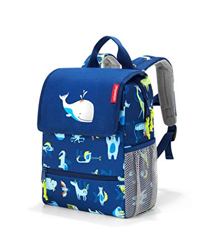 reisenthel backpack kids Kinder-Rucksack 21 x 28 x 12 cm/5 l / abc friends blue