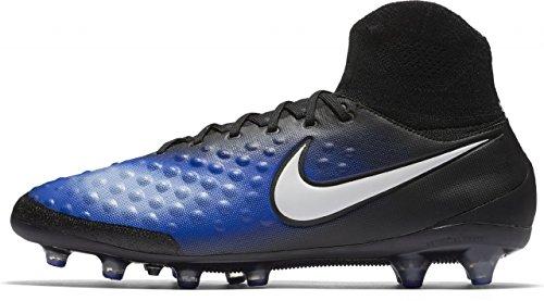 Nike Herren 843811-018 Fußballschuhe, Schwarz (Black/White-Paramount Blue-Aluminum), 42.5 EU