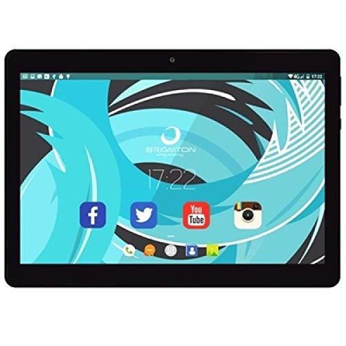 Brigmton Tablets 10' IPS QCore 3G 1027 32GB Negra