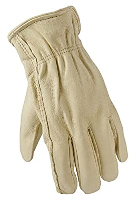 True Grip Premium Pigskin Leather Work Gloves