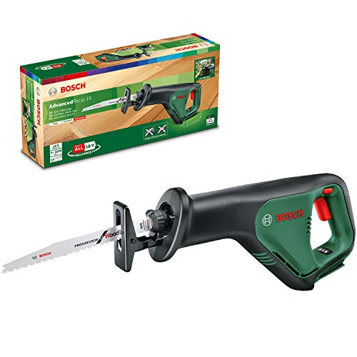Bosch Cordless Reciprocating Saw AdvancedRecip 18 (Without Battery, 18 Volt...
