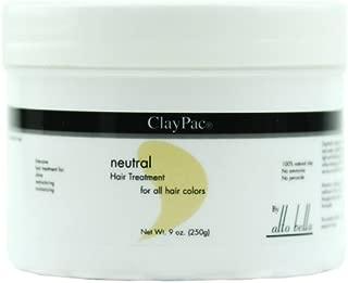 Alto Bella ClayPac Salon Color Enhancing Treatment, Neutral (9oz)