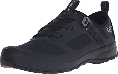 Arc'teryx Arakys Approach Shoe Men's | Ultralight Climbing Shoe | Black/Black, 10