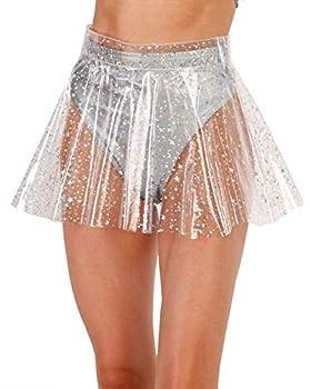 transparent pvc skirt