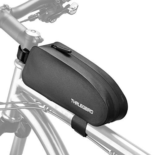 自転車 フレームバッグ ロードバイク携帯ホルダー 完全防水 自転車バッグ トップチューブバッグ フロントバ...