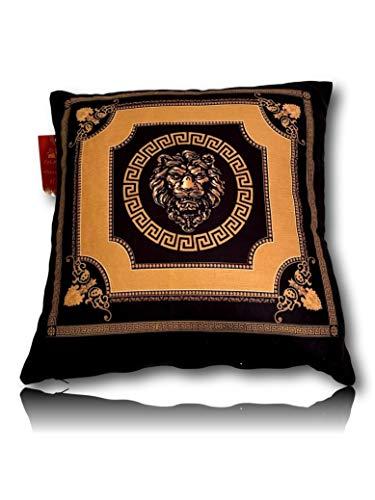 Belle Arti Cojín decorativo de 45 x 45 cm y 60 x 60 cm. Cojín de alta calidad y extremadamente suave con un diseño elegante y atemporal (45 x 45 cm).
