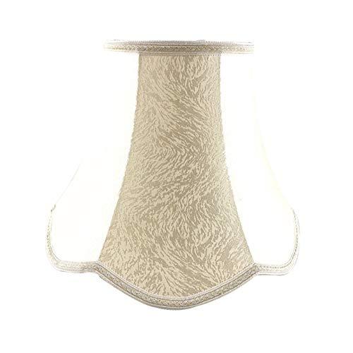 SACYSAC Pantalla de Tela del Palacio, Onda de Encaje a Mano Encaje Retro Dormitorio Sala de Estar lámpara lámpara,F