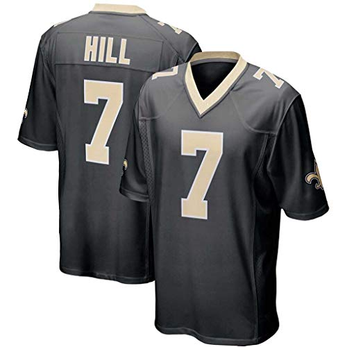 ZJFSL NFL Football Jersey Herren Saints # 41# 9# 13 Legend II Anzüge Football Jersey Kurzarm Sport Top T-Shirt NFL Jersey,C-7,XL