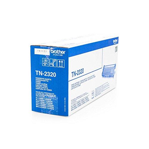 Toner ORIGINAL zu Brother HL-L 2300 Series / 2320 D / 2321 D / 2340 DW / 2360 DN / 2360 DW / 2361 DN / 2365 DW / 2380 DW / MFC-L 2700 DW / MFC-L 2700 Series / MFC-L 2701 / MFC-L 2701 DW / MFC-L 2703 DW / MFC-L 2720 DW / MFC-L 2740 CW / MFC-L 2740 DW / DCP-L 2500 D / DCP-L 2500 Series / DCP-L 2520 DW / DCP-L 2540 DN / DCP-L 2560 DW / DCP-L 2700 DW, 1x black / schwarz, 2.600 Seiten, ersetzt TN-2320