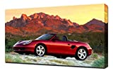 2000 Porsche-Boxster-S-V1-1080 - Lienzo decorativo para pared, diseño de Porsche-Boxster-S-V1-1080