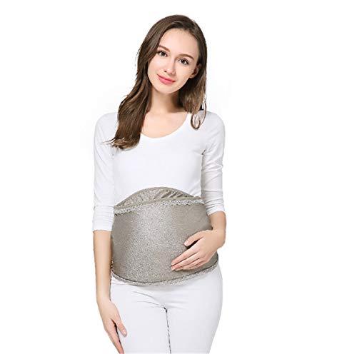 BABIFIS Delantal de protección contra la radiación para embarazadas, antiradiación, cómodo, elegante, antibacteriano, para cocinar, hornear, cocinar.