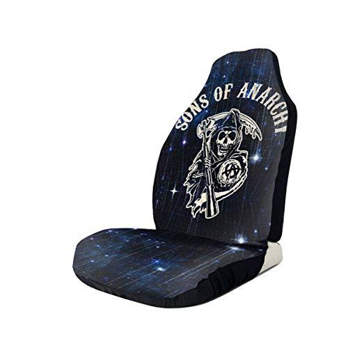 Sons of Anarchy Fear The Reaper Accessoires de Voiture Protections de siège Housse de siège de Voiture Compatible avec la Plupart des Voitures
