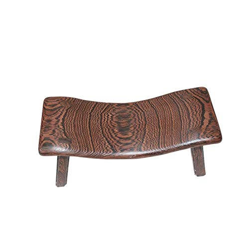 Best Bargain Elegdy Yoga Inversion Chair Fitness Yoga Sleeping Pillow Solid Wood Cervical Support Pi...