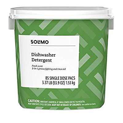 dishwasher detergent pods solimo