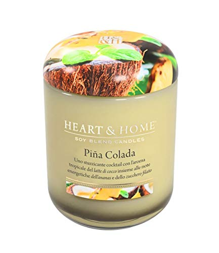 Heart & Home 115 g Soy Candle – Pina Colada
