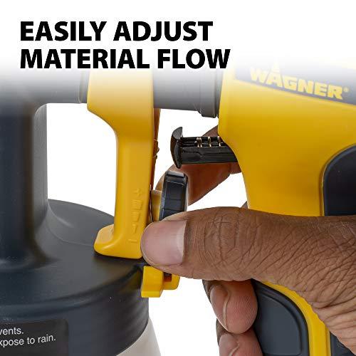 Wagner Spraytech 518050 Stain Sprayer, Control Spray Double Duty, Yellow