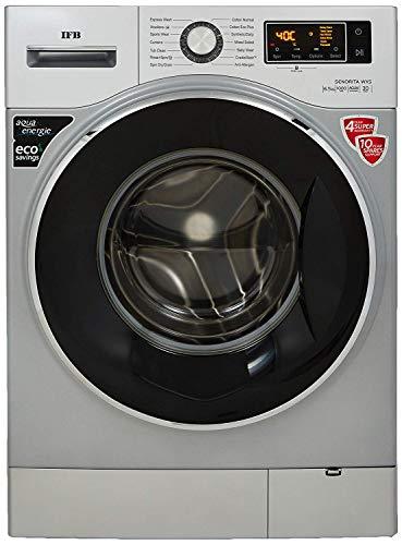 IFB 6.5 kg Fully-Automatic Front Loading Washing Machine (Senorita WXS, Double Tone -Chrome/White, Inbuilt Heater)