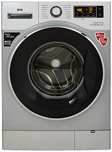 IFB 6.5 kg Fully-Automatic Front Loading Washing Machine (Senorita WXS, Double Tone -Chrome/White, Inbuilt Heater)
