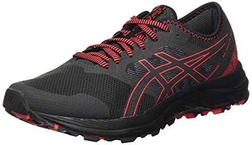 ASICS Gel-Excite Trail, Zapatillas para Correr Hombre, Grafito Grey Electric Red, 44 EU