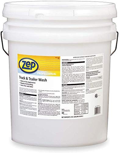 Zep Professional Truck And Trailer Wash 1041566 (5 Gal Bucket) Professional Strength