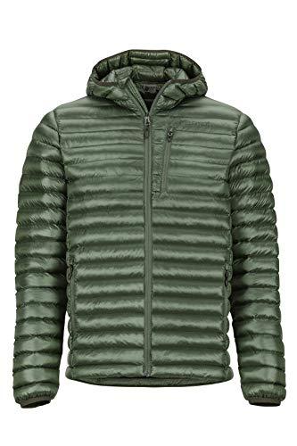 Marmot Herren Avant Featherless Hoody Ultra-leichte Isolierte Winterjacke, Warme Outdoorjacke Mit Kapuze, Wasserabweisend, Winddicht, Crocodile, M
