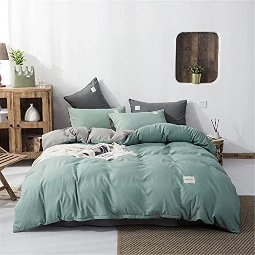 Ropa De Cama Nórdica Textiles para El Hogar Funda Nórdica De Doble Cara De Color Puro Moderna Simple Cómoda Y Duradera 200X230cm