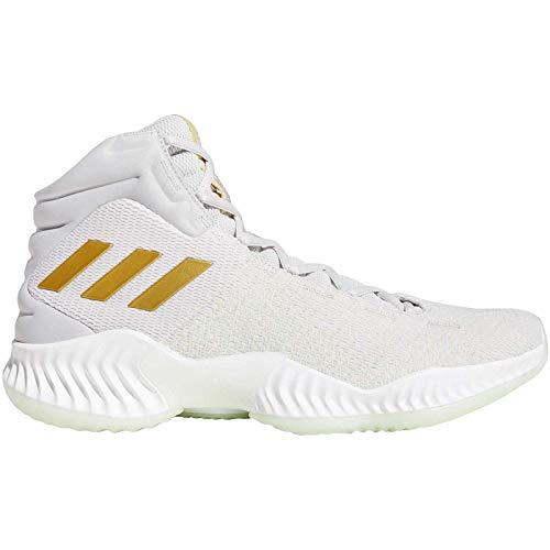 adidas Performance Mens Pro Bounce 2018 Basketball Shoes White - 15US