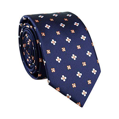 SIMEISM Fliege Stil Krawatte für Herren Schmale Krawatte Einfarbig Krawatte Polyester Schmale Krawatte Königliche Party formelle Krawatte