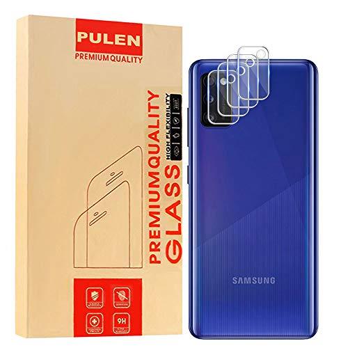 PULEN [4 Pack] Samsung Galaxy A41 Pellicola Protettiva(Fotocamera Posteriore) ,Alta Definizione Vetro Temperato [Durezza 9H][Antigraffio][Facile da Installare] Flim per Samsung Galaxy A41
