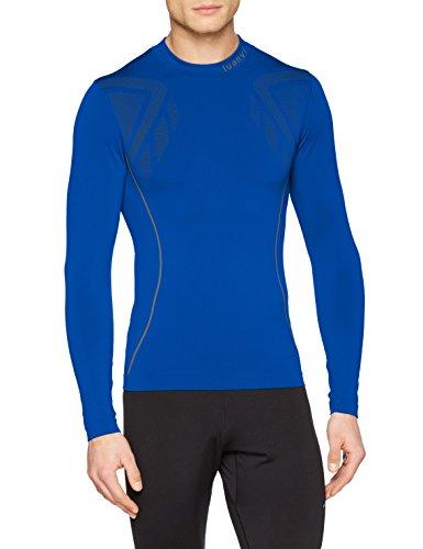 Luanvi Sahara Camiseta térmica, Hombre, Azul Royal, XXS