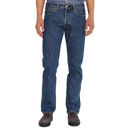 Levi's 501 Original Jeans, Stonewash 80684, 34W / 32L Uomo