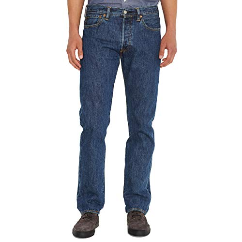 Levi's 501 Original Jeans, Stonewash, 34W / 32L Uomo