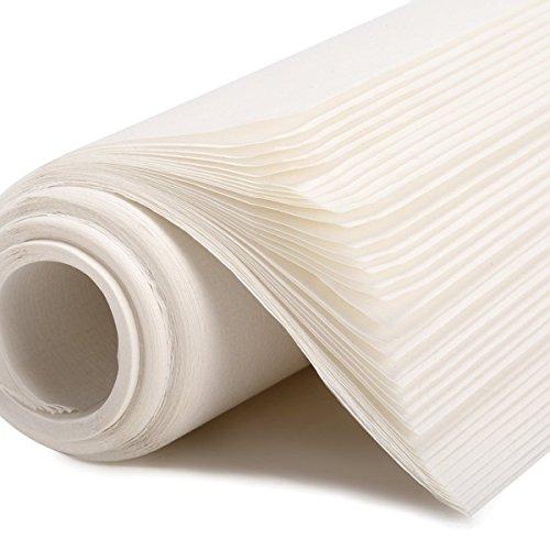 Ultnice - Juego de 35hojas de papel de arroz chino, para caligrafía, tinta pintura Sumi, papel de dibujo