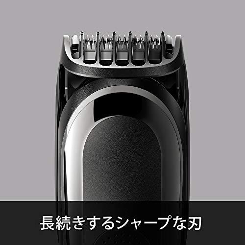 ブラウン電動バリカン/ヒゲトリマー0.5mm幅水洗い可アタッチメント8個人工知能スタイリングMGK5060【Amazon.co.jp限定】