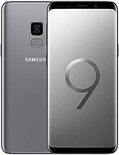Samsung Galaxy S9 Dual Sim - 64GB, 4GB RAM, 4G LTE, Middle East Version - Titanium Grey
