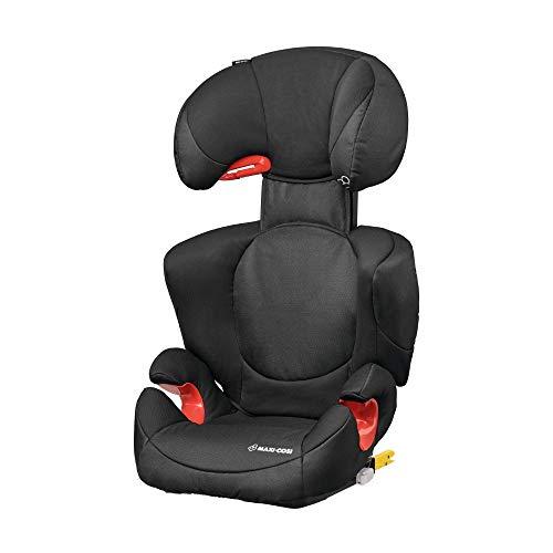 Maxi-Cosi Rodi XP FIX-Kindersitz, ISOFIX Booster-Sitzerhöhung, 3,5 - 12 Jahre, 15 - 36 kg, Night Black (schwarz)