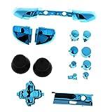 #N/A/a Kit de Reemplazo de Botones LX RB Bumpers RT LT Triggers ABXY para Xbox One S - Azul