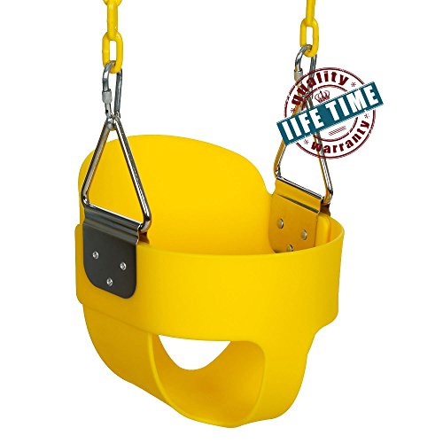 ANCHEER Toddler Swing Seat High Back...